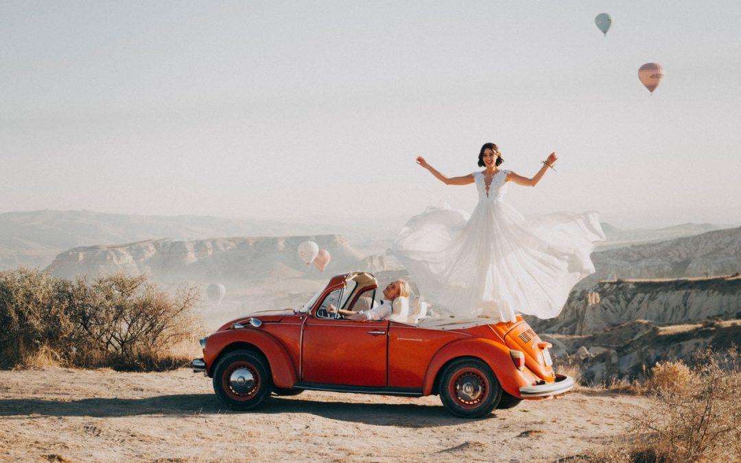 De bedste destinationer til bryllupsrejsen
