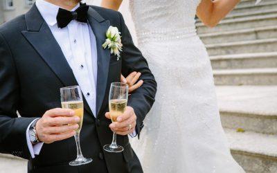 Champagne til brylluppet