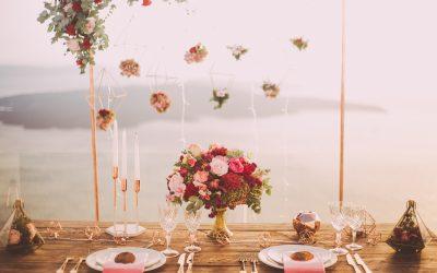 Pynt op med blomster til brylluppet