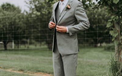 Bryllupstøj til gommen