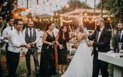 Bryllupsfest i fantastiske rammer